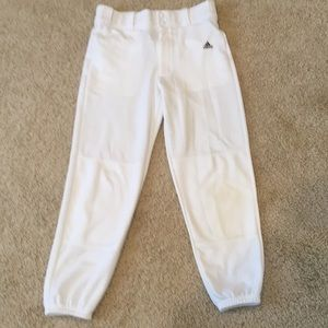 Adidas youth baseball pants